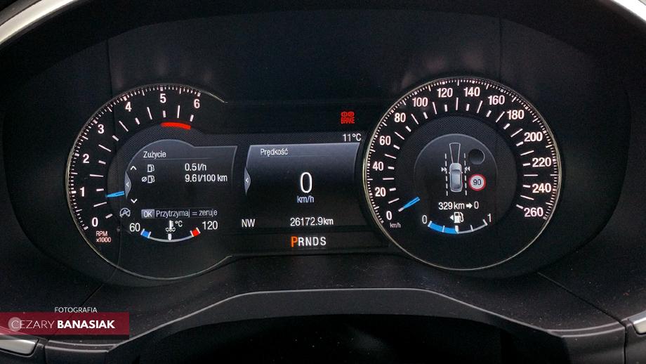 Ford Edge spalanie